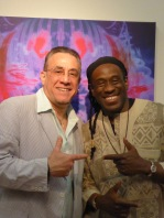 Will Calhoun and Bobby Sanabria | Joyce Jones photo