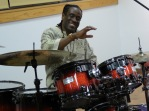 Will Calhoun at work | Joyce Jones photo