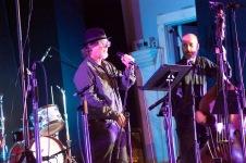 Bob Holman (L) and Todd Nicholson